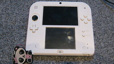nintendo 2ds red white console model no ftr 001 tested 24 99
