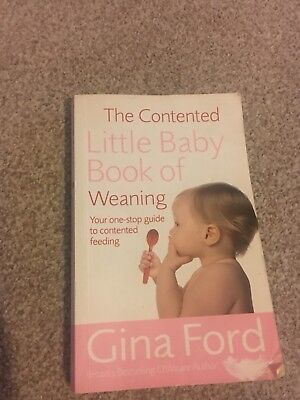 The Contented Little Baby Book Of Weaning by Gina Ford (Paperback, 2006)