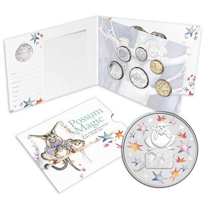 NEW RA Mint Possum Magic  2019 Uncirculated Bay Coin Set 6pce