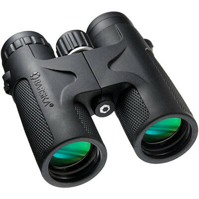 NEW Barska Blackhawk 10X42 Waterproof Binoculars w/Green Lens
