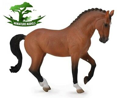 HANOVERIAN BAY MARE - Breyer by CollectA 88719 - Horse Model Toy - NEW