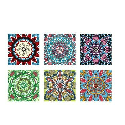 6 Pcs/Set Moroccan Style Art Bedroom Living Room Kitchen Home Decoration Si K3X6