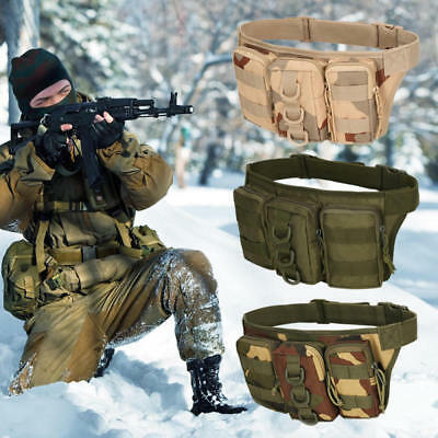 Tactical Waist Pack Drop Leg Bag Belt Military For Hiking Riding Outdoor Bag