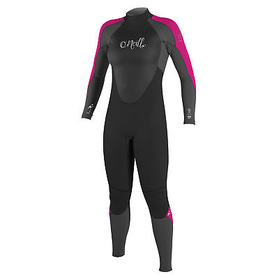 O Neill Epic 4 3mm Womens Back Zip Wetsuit 2019 - Berry 87a7816f4