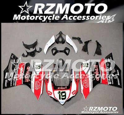 NEW ABS FAIRING Bodywork Fit DUCATI 899 1199 PANIGALE 2012 2013 2014 RZMOTO C33
