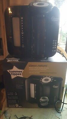 Tommy Tippee Perfect Prep Machine Black