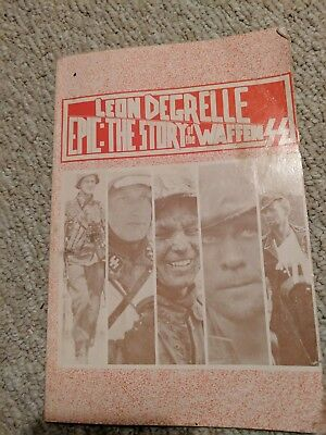 Epic: the Story of the Waffen SS by Leon Degrelle 1983 VGsoftcover