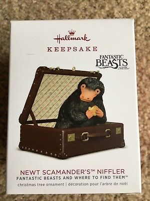 Hallmark 2018 NIFFLER Newt Scammander's Fantastic Beasts and where to find them