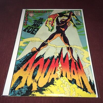 Aquaman #42 2nd appearance of Black Manta DC Comics 1968 Silver Age Gorgeous!