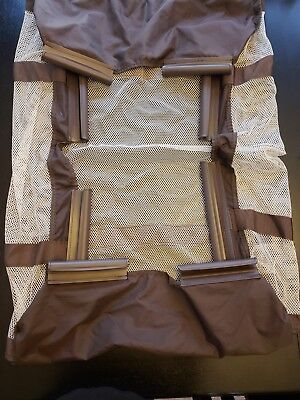 Graco Pack N Play Clip On Bassinet Insert with Support Poles Brown