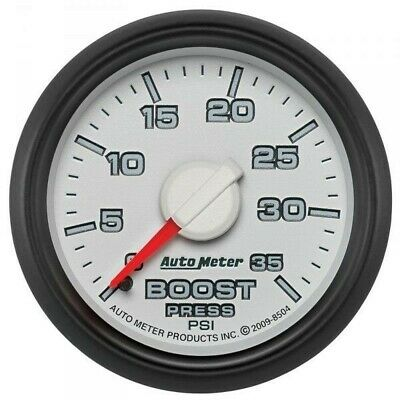 Auto Meter Factory Matched Boost Gauge 8504 For 0-35 Psi 03-09 Dodge