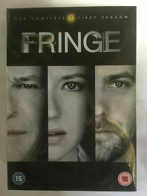 Fringe - Season Series 1 (DVD, 2009, 7-Disc Set, Box Set) NEW & Sealed WC3
