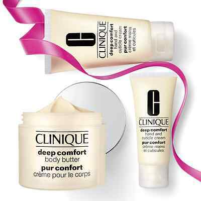 Coffret deep comfort body butter Clinique