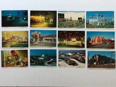 Postcards   -      1974 Exposition,  Spokane, 12 cards