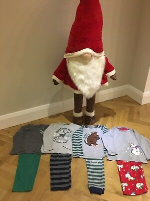 Boys christmas pyjamas Bundle Age 7/8 John Lewis