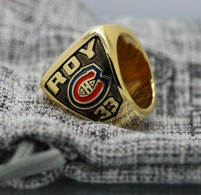 Custom Name & Number for 1993 Montreal Canadiens Stanley Cup Championship Ring