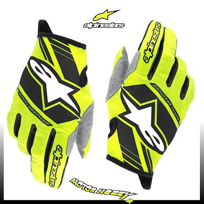 Guanto Cross Enduro Alpinestars Neo Gloves Yellow Fluo Black Taglia M