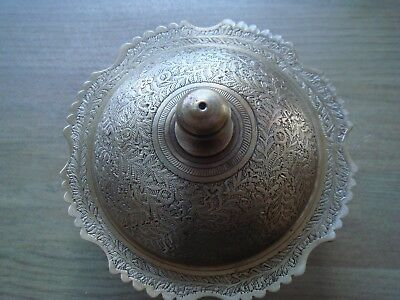Indian highly decorative Dish with Lid