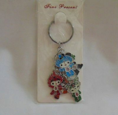 2008 Olympic Games Beijing Original Keychain with The Official Mascot Fuwa No3
