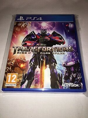 Transformers Rise Of The Dark Spark - Rare  - Ps4 - Pal - Trusted - Fast - New