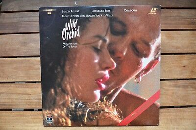 WILD ORCHID Mickey Rourke - NEW LaserDisc - FREE Post - mmoetwil@hotmail.com