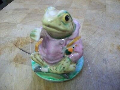 "Beswick Beatrix Potter ""mr Jeremy Fisher"" Figure 3"" Tall"