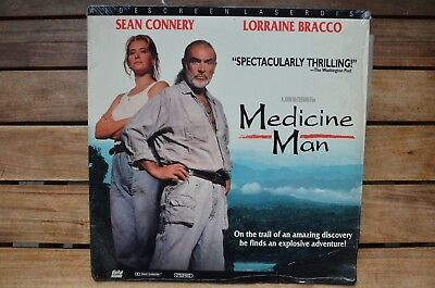 MEDICINE MAN Sean Connery - NEW LaserDisc - FREE Post - mmoetwil@hotmail.com