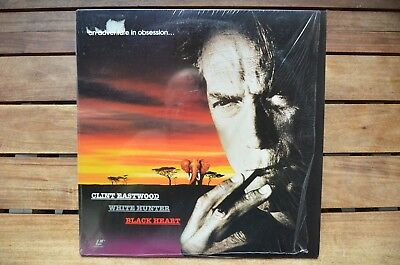 WHITE HUNTER Clint Eastwood - NEW LaserDisc - FREE Post - mmoetwil@hotmail.com