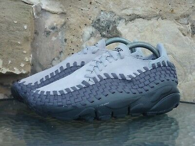 WMNS NIKE AIR Footscape Woven UK 5 Grey Black BNIB New Suede