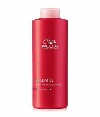Wella Professionals Brilliance Shampoo feines bis normales Haar 1000ml
