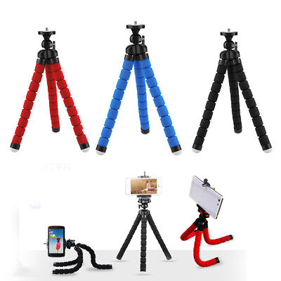 Portable Flexible Tripod Octopus Stand Gorilla Pod For Gopro Camera DSLR Phone