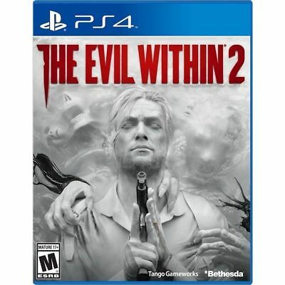 The Evil Within 2 USED SEALED (Sony PlayStation 4, 2017) PS4