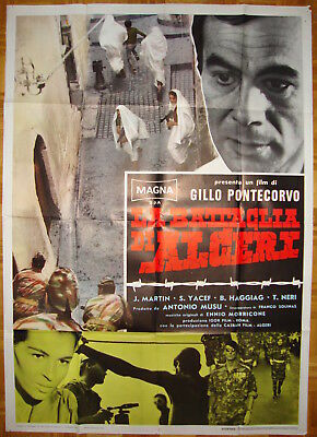 Battle of Algiers-Gillo Pontercorvo-War Images-Italian 2sh (39x55 inch)