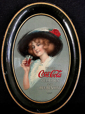 1912 Hamilton King Coca-Cola Tip Tray AUTHENTIC & NEAR MINT!