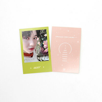 [GOT7]Present:You&Me Repackage Official Photocard/Miracle/YUGYEOM 9