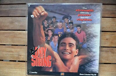 ONLY THE STRONG M.Dacascos  - NEW LaserDisc - FREE Post - mmoetwil@hotmail.com