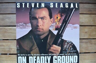 ON DEADLY GROUND Steven Seagal NEW LaserDisc - FREE Post - mmoetwil@hotmail.com