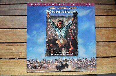 8 SECONDS Stephen Baldwin L.Perry  NEW LaserDisc FREE Post mmoetwil@hotmail.com