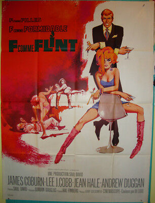 In Like Flint-Spy-Gordon Douglas-Lee J.Cobb-Sci fi-James Coburn-French (47x63)