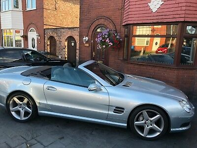 mercedes sl 500 amg,2002; factory amg;315 bhp;convertible;immaculate and stunnin
