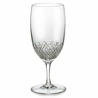 Waterford Crystal ALANA Footed Iced Beverage Glasses SET / 4 - NEW IN BOX!