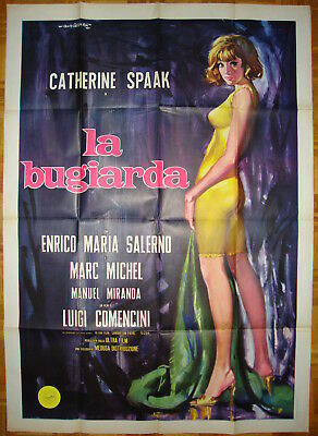 Six Days a Week-L.Comencini-Sexy-C.Spaak-Art By Gasparri-Italian 2sh (39x55 inch