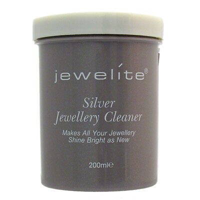 Jewelite Easy Silver Jewellery Dip Cleaner 200ml  -  Great Results in Seconds!