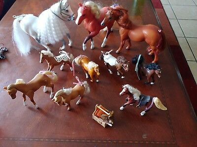 14 PC Lot *GC Grand Champion* Toy🏇 Horses/Marchon Empire NICE Collection