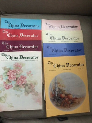 The China Decorator 35 Issue from 1980- 1985