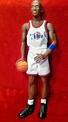"Rare MICHAEL JORDAN SPACE JAM 18"" TUNE SQUAD Figure 1996 Warner Bros. Number  23"