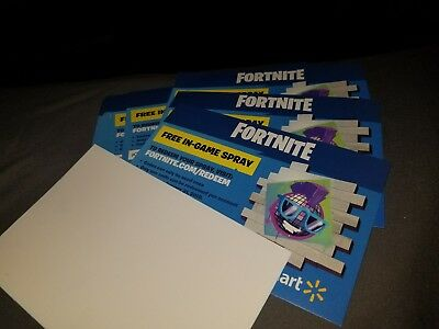 3 Free Fortnite Walmart Spray Codes Orbula
