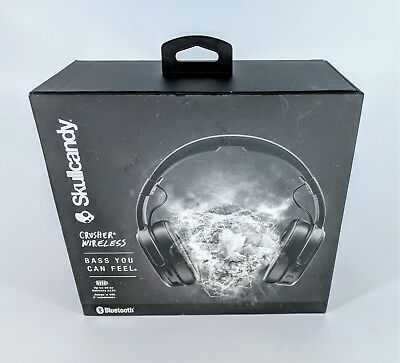 Skullcandy Crusher Bluetooth Wireless Over-Ear Headphone with Microphone