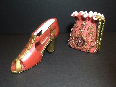 Just The Right Shoe, Raine Ceramic Shoe And Purse