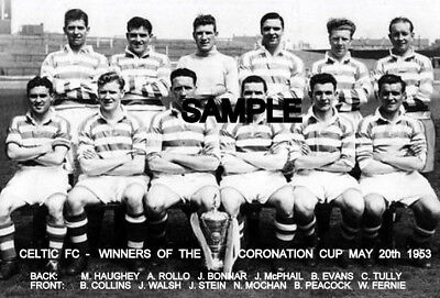 Celtic FC 1953 Cup Team Photo